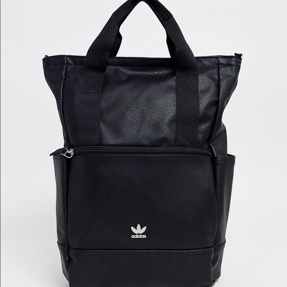 Almost new adidas Originals backpack faux leather